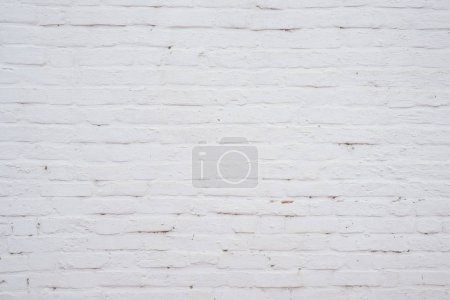 Photo for White brick stone blocks wall background and texture - Royalty Free Image