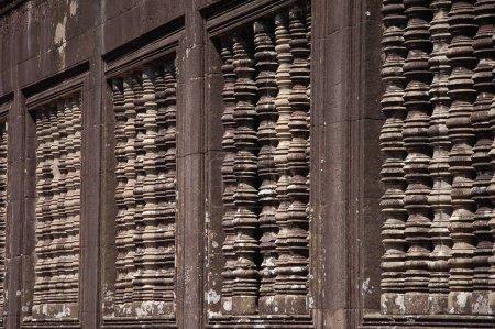 Photo pour Vue du temple Angkor Wat, Cambodge - image libre de droit