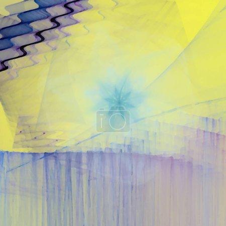 Foto de Patrón de fantasía caótica fractal colorido. Resumen formas fractales. Fondo de ilustración de Render 3D o fondos de pantalla. - Imagen libre de derechos