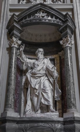 Sculpture of the Apostle St. Paul the Greater by Pierre-Etienne