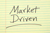 Market Driven On A Yellow Legal Pad