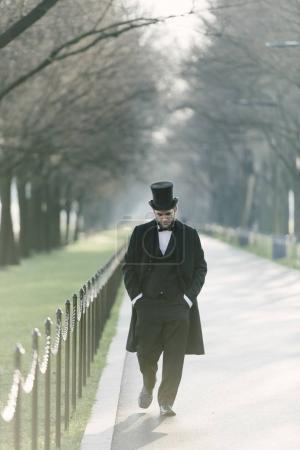 Abraham Lincoln Character At The