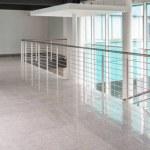 Modern minimalist interior at the university with ...