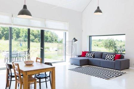 Scandynavian style living room