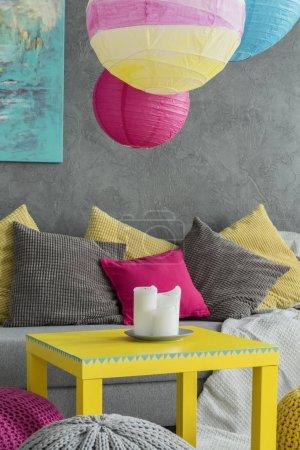 Colorful paper lantern