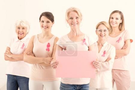 Copiar espacio, mamografía recordatorio