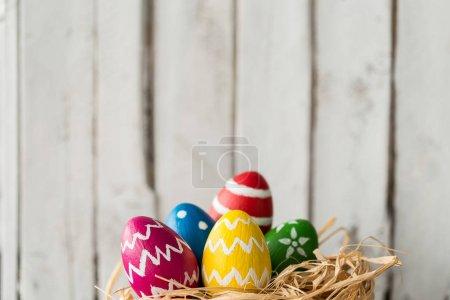 Cute painted eggs