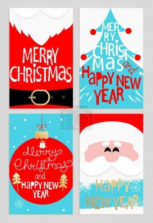 Santa message banners.