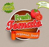 Fresh Tomato logo lettering