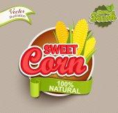 Sweet Corn logo lettering