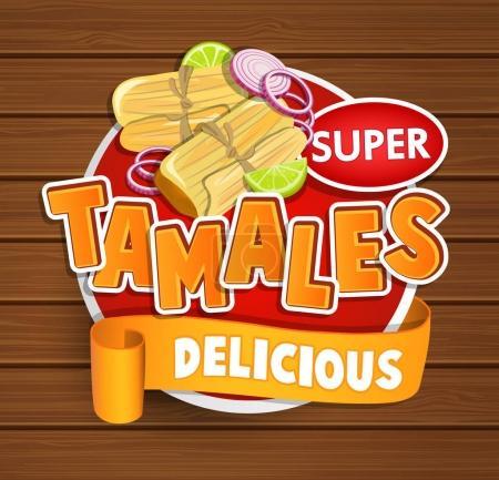 Tamales delicious logo