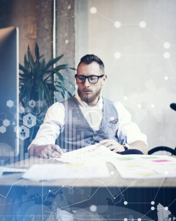 Businessman Making Business Decisions.