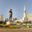Independence square in Maputo, capital city of Moz...