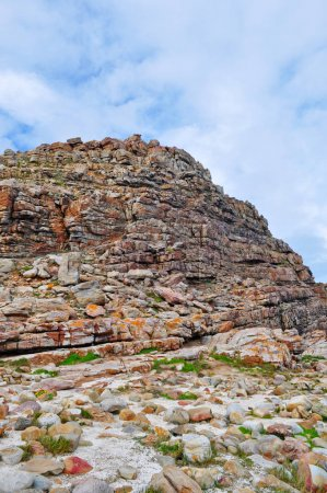 South Africa: the last cliff of the Cape of Good Hope