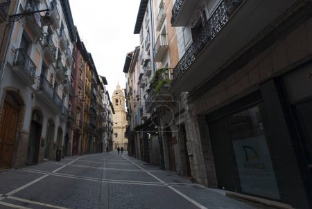 Basque Country the alleys of