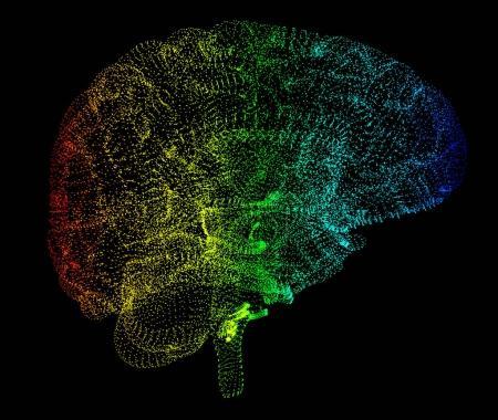 Brain degenerative diseases, Parkinson's, Alzheimer's, 3d rendering