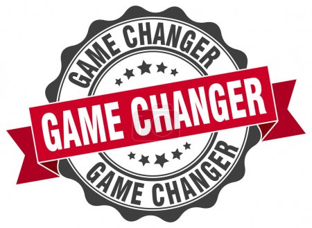 game changer stamp. sign. seal