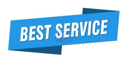 Foto de La mejor plantilla de banner de servicio. mejor señal de cinta de servicio - Imagen libre de derechos