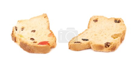 Set rusks isolated over the white background