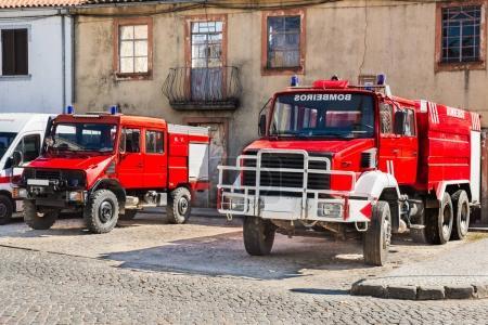 portugiesische feuerwehrautos