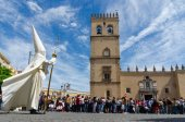 Badajoz Spain monday. april .16. 2017. Brotherhood and Brotherho