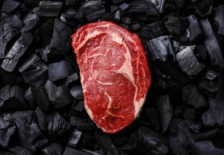 Raw fresh meat Ribeye