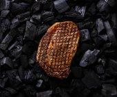 """Постер, картина, фотообои """"Мясо на гриле Стейк Рибай"""""""