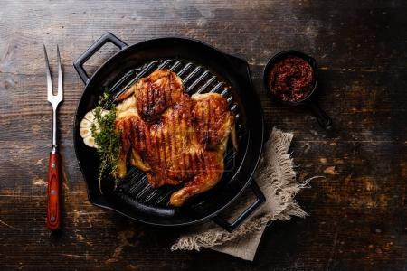 Grilled fried roast Chicken