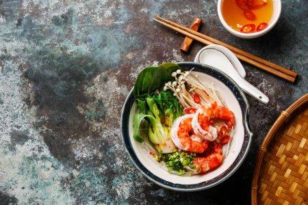 Rice noodles with Shrimps