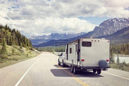 motor home trailer