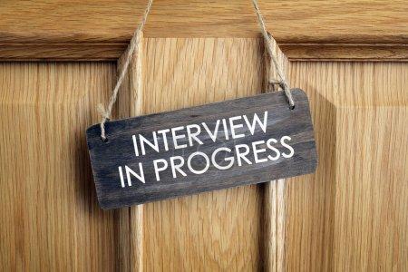 Interview room door concept