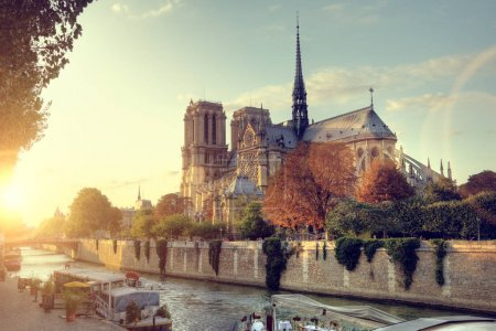 Notre-Dame cathedral in Paris
