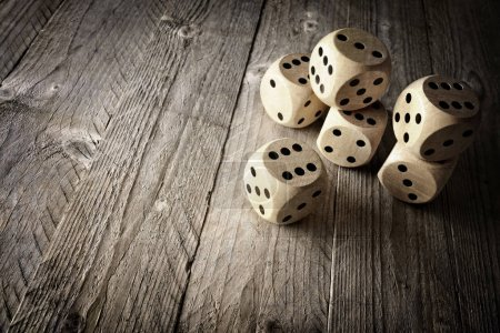 dices concept for business risk
