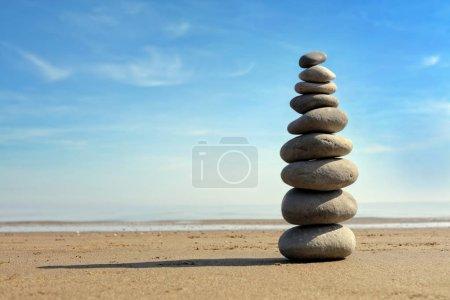 Zen stone balance