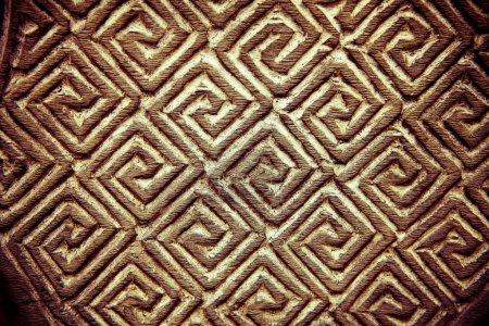 Foto de Madera tallada de adorno, fondo por desygn y fondos de pantalla. - Imagen libre de derechos