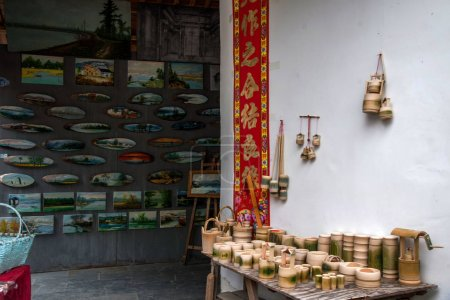 Anhui Yixian Hongcun bamboo handicrafts