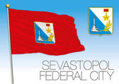 Sevastopol Federal City flag Russian Federation Russia