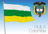 Huila regional flag Colombia