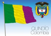 Quindio regional flag Colombia