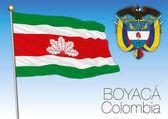 Boyaca regional flag Colombia