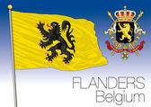 Flanders regional flag Belgium