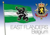 East Flanders regional flag Belgium