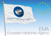 EMA European Medicines Agency flag vector file illustration