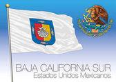 Baja California Sur regional flag United Mexican States Mexico