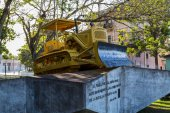 Bulldozer from Battle of Santa Clara