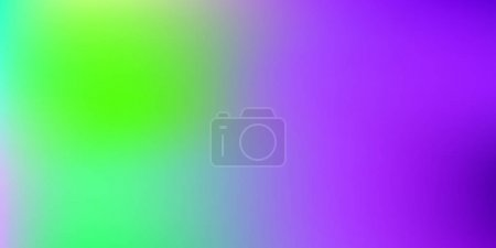 Illustration for Pastel mesh modern background. Smooth foil blurred futuristic template. Bright hipster style backdrop. Softly delimited segments, sectors for info. Blank spectrum gradient printed products, covers - Royalty Free Image