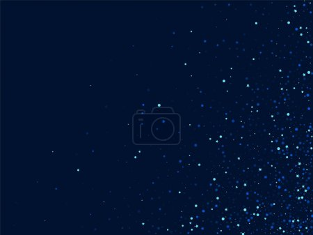 Foto de Black Effect Vector Star Border. Blue Cosmos Starry Texture. Sky Digital Background. Banquero brillante plateado. - Imagen libre de derechos