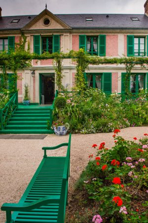 Wonderful Giverny Garden Normandie France