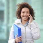 Phone, online, Women, Student,Folder...
