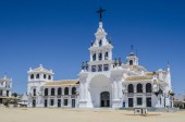 The Church is home to the Virgin of El Roco in the countryside of Almonte Province of Huelva in Andalusia Spain